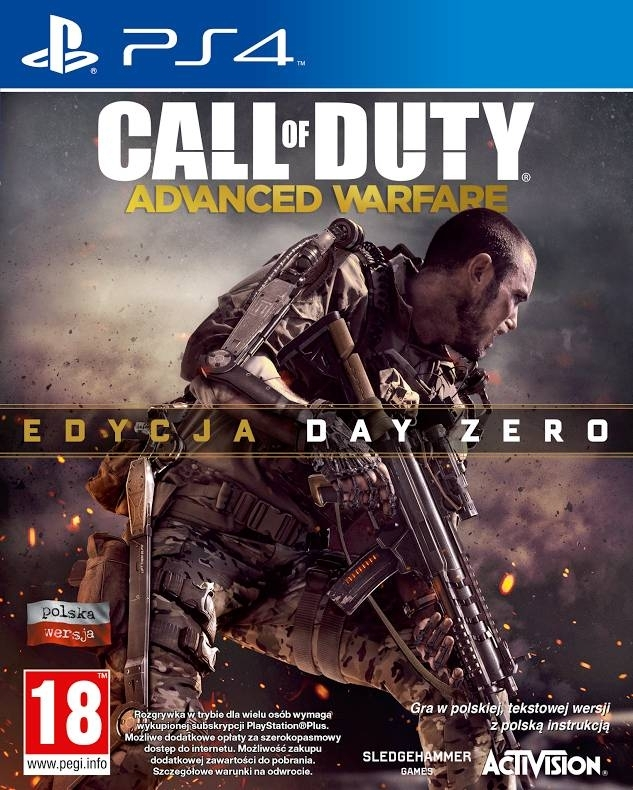 Call of Duty Advanced Warfare Day Zero Edition PL + Bonus (PS4)